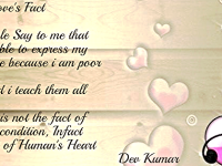 Love's Fact……..