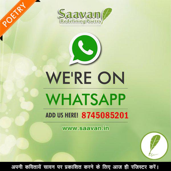 Join Saavan on whatsapp